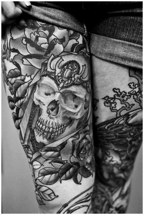 Hot Thigh Tattoos for Women – Odd Stuff Magazine