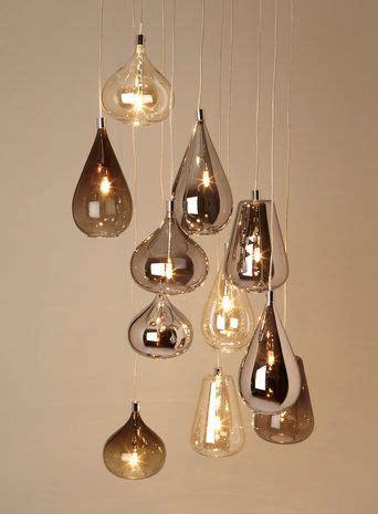teardrop pendant light australia smoke nadine cluster ceiling lights home lighting