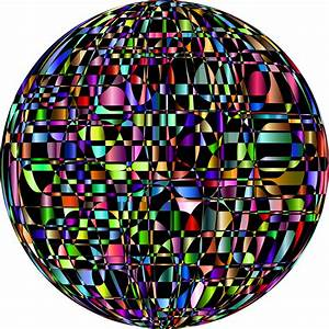 Clipart - Abstract Chromatic Orb