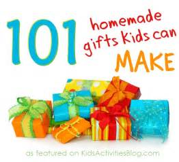 101 Homemade Gifts Kids Can Make