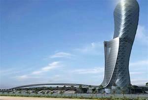 El Capital Gate De Abu Dhabi Es El Edificio M U00e1s Inclinado Del Mundo