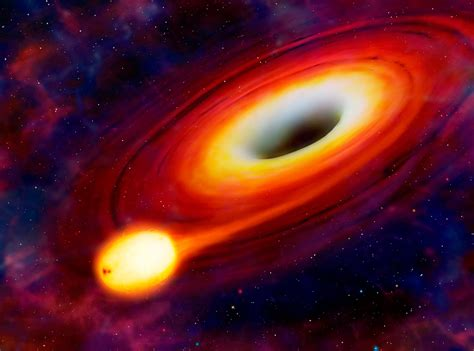 Another hungry black hole devours a star   astrobites