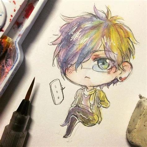 watercolor anime watercolor watercolour anime on instagram