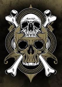 Skulls And Bones Wallpaper - WallpaperSafari