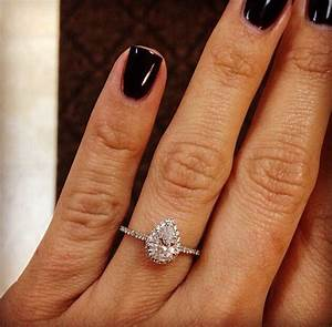 Timeless gorgeous engagement ring jewelry pinterest for Wedding band for teardrop engagement ring