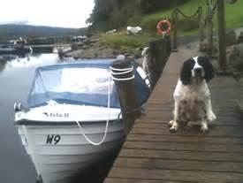 Fishing Boat Hire Loch Tay by Loch Tay Fish N Trips