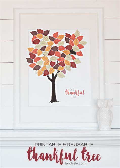 thankful tree printable  scrapbookers scrap booking