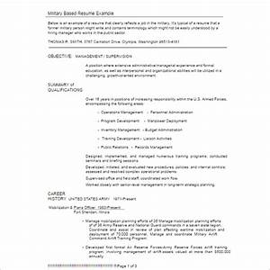 23 Free Resume Example Templates Word Sample Formats