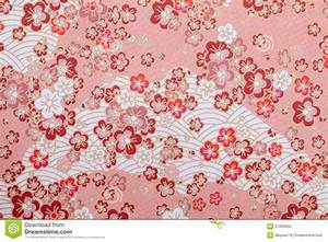 Japanese pattern paper stock photo Image of flower