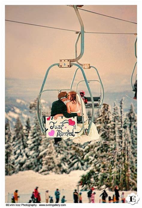 The Confetti Blog Skis Snow And Skates Winter Wedding