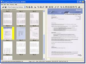 recogniform papercapture batch document scanning for With batch document scanner