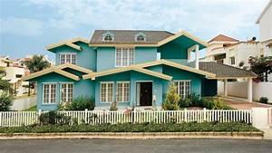 Welche überwachungskamera Fürs Haus : beispiele f r fassadenfarben architektur zenideen ~ Lizthompson.info Haus und Dekorationen