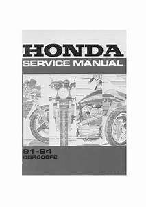 Honda Cbr 600 F2 1991 1994 Repair Manual Pdf Download