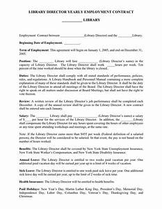 director contract template 28 images director With director employment contract template