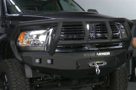 road armor rb stealth winch front bumper