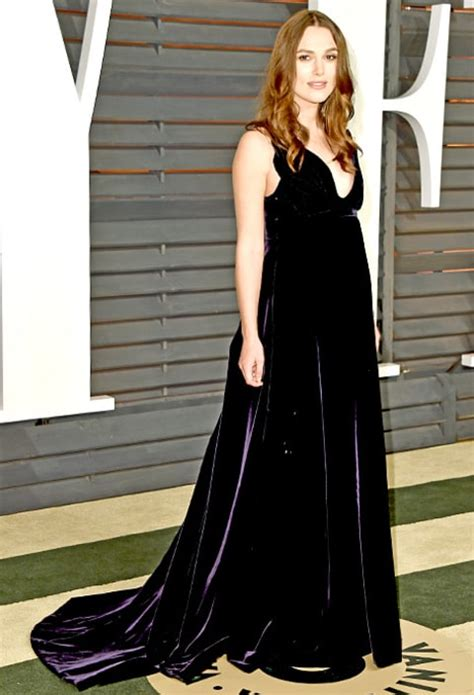 Vanity Fair Keira Knightley by Jaime King Debuts Baby Bump At Vanity Fair Oscars
