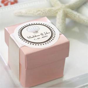personal handmade pink paper wedding favour box with your With wedding favor gift boxes