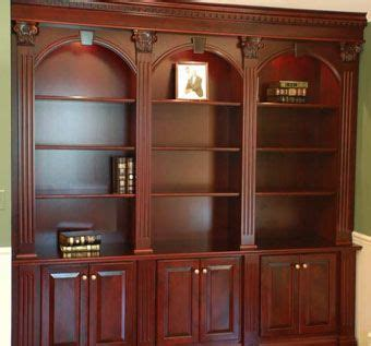 Custom Made Bookcase by Made Ornate Cherry Bookcases By Artisan Custom