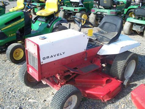 gravely 16g lawn garden tractors deere