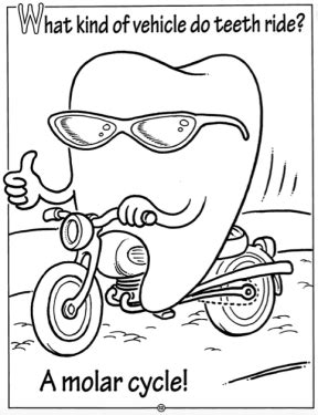 ada preschool dentist office coloring page coloring pages 278