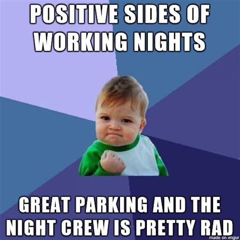 Night Meme - story of an accidental night shift worker album humor and nurse life