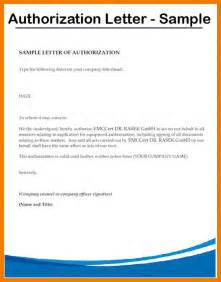 Authorization Letter In Bank Authorization Letter Format For Birth Certificate Authorization by 8 Authorization Letter Sles On Behalf Mailroom Clerk