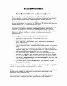 Best photos of veterans disability appeal letter va for Va nexus letter template
