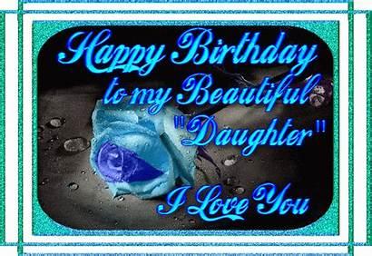 Birthday Happy Glitter Graphics Daughter 20th Animated