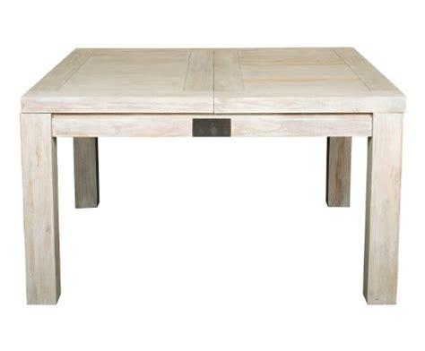 mobilier table table carr 233 e avec rallonge pas cher