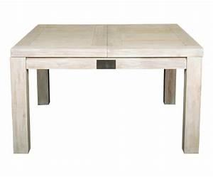 Table A Rallonge Pas Cher : table carr e pas cher table de lit ~ Teatrodelosmanantiales.com Idées de Décoration