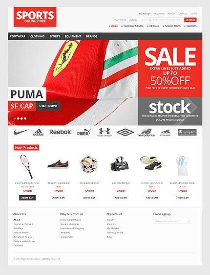 magento web template web design web design