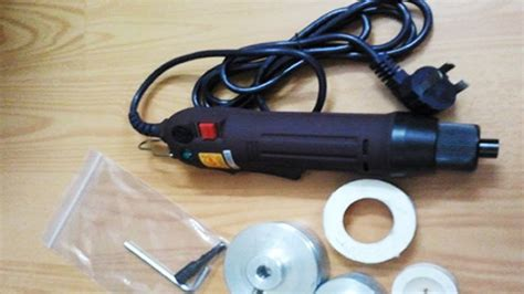 portable electric hand held bottle capping machine bottle cap sealer semi automatic simple