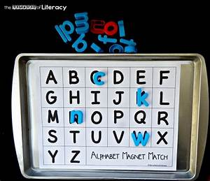 missing letters cookie sheet activity the letters of With magnetic letter printables