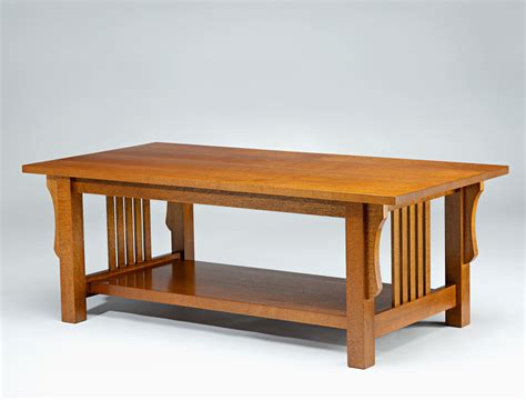 arts and crafts table ls arts and crafts coffee table silky oak lacewood furniture