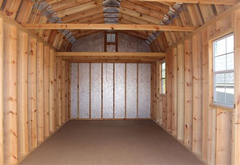 12x20 storage shed with loft gambrel roof shed vs gable roof shed which design is