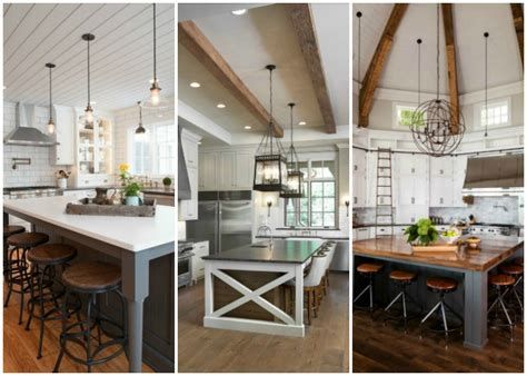 modern farmhouse kitchens  gorgeous fixer upper style