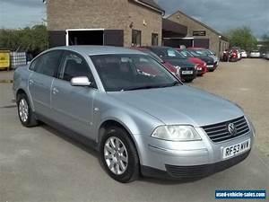 2003 Volkswagen Passat Se Tdi For Sale In The United Kingdom