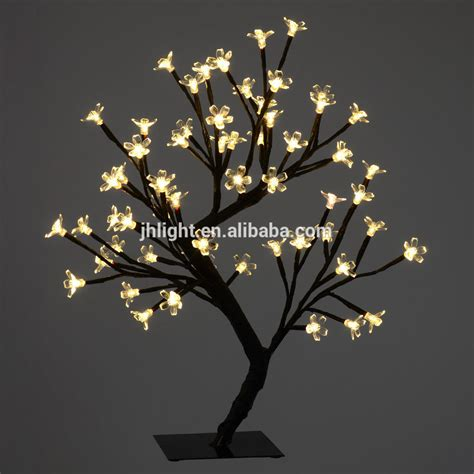 2015 indoor led wedding decorate tree led cherry blossom