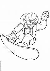 Snowboarding Coloring Categories Similar Printable Sonic sketch template