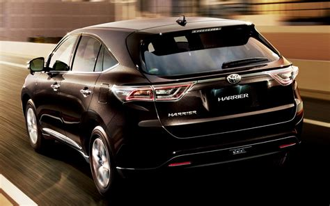 comparison toyota harrier premium   subaru
