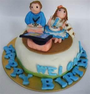 Cute Face Fondant Cakes & Cupcakes - Fondant Cake Images