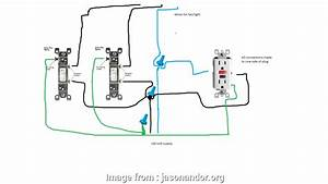How To Wire A Light Switch Plug Most Combo Switch Outletg