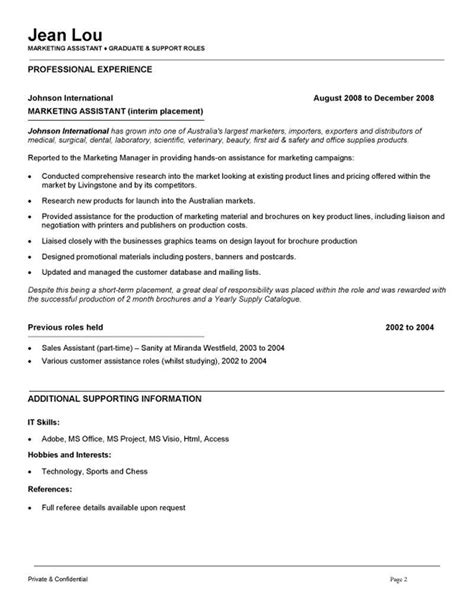 Assistant Media Planner Resume by Marketing Coordinator Resume And Cover Letter Free Resume Sles Writing Guides For All