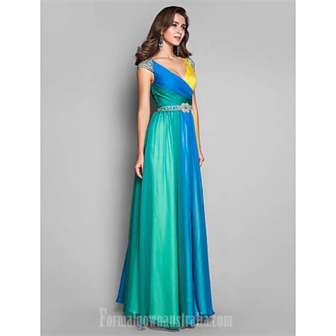 multi color dress australia formal evening dress prom gowns