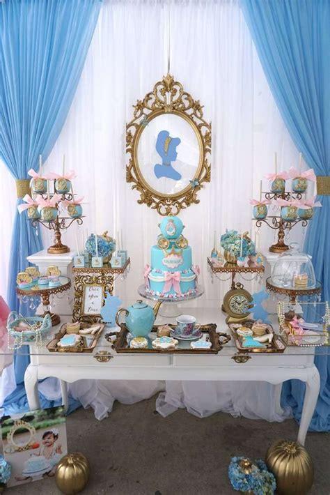 cinderella decorations amazing pink and blue cinderella birthday see more