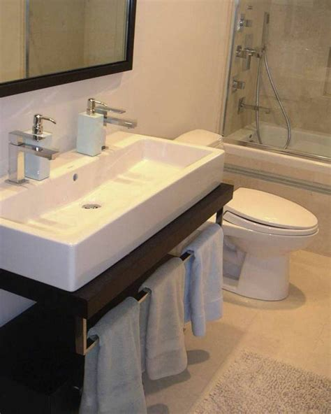 gorgeous duravit sink  bathroom modern  narrow sink