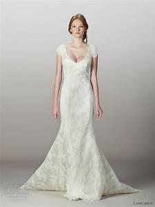 liancarlo fall 2013 wedding dresses wedding inspirasi With chantilly lace wedding dress