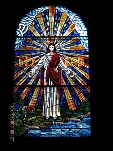 The stained glass window in our church. Immanuel Southern ...