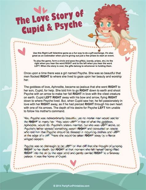 Left Right Bridal Shower by A Left Right The Story Of Cupid And
