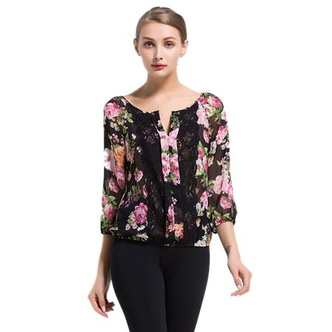 s shirts and blouses summer printed blouse summer tops casual